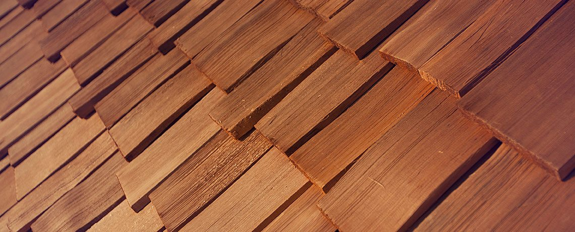 Cedar shingle installers